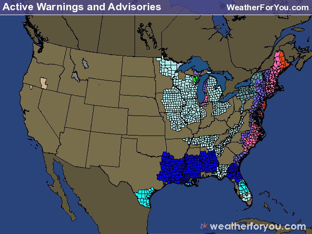 Active Warnings